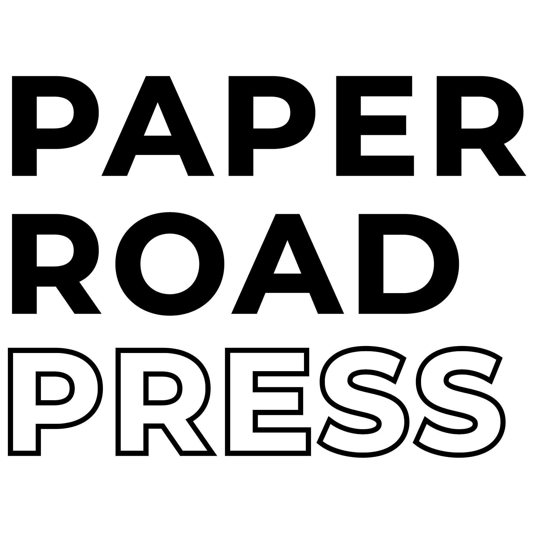 paper road press logo