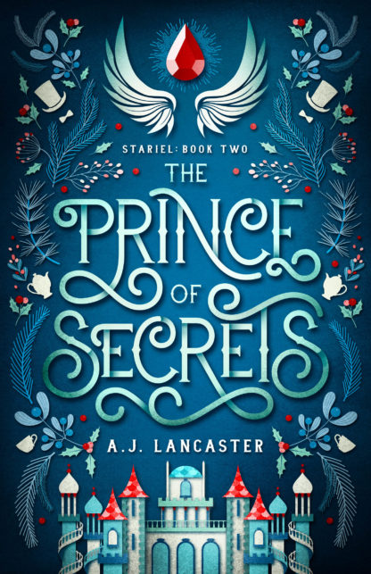 Front cover image of Prince of Secrets by A.J. Lancaster